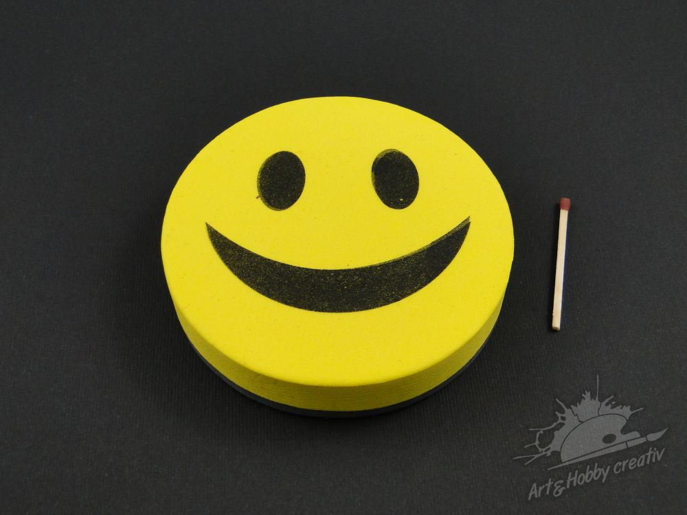 Burete magnetica smiley
