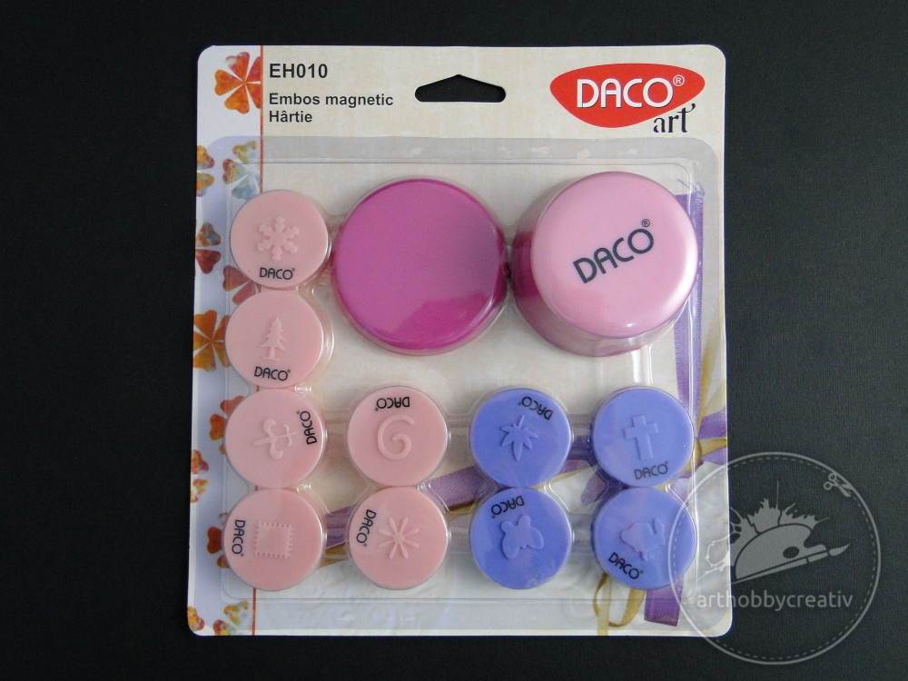Emboss magnetic set/10buc