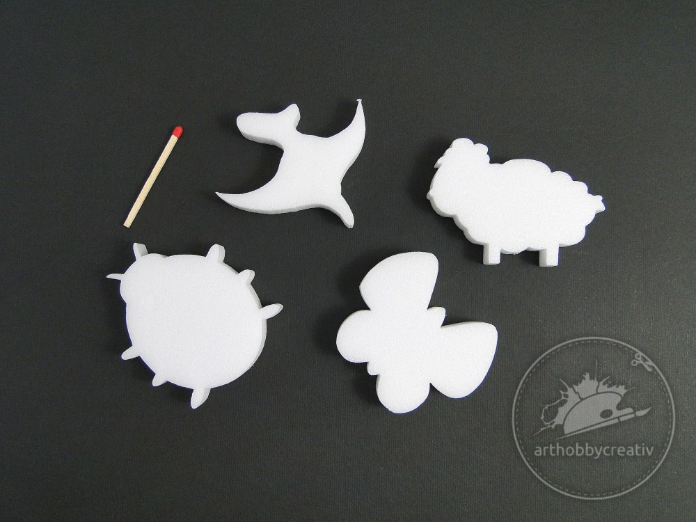 Figurine polistiren- paste set/4 buc (2)