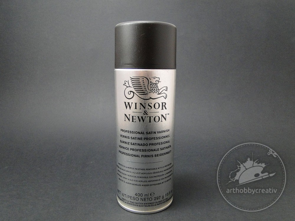Vernis spray Satin W&N 400ml