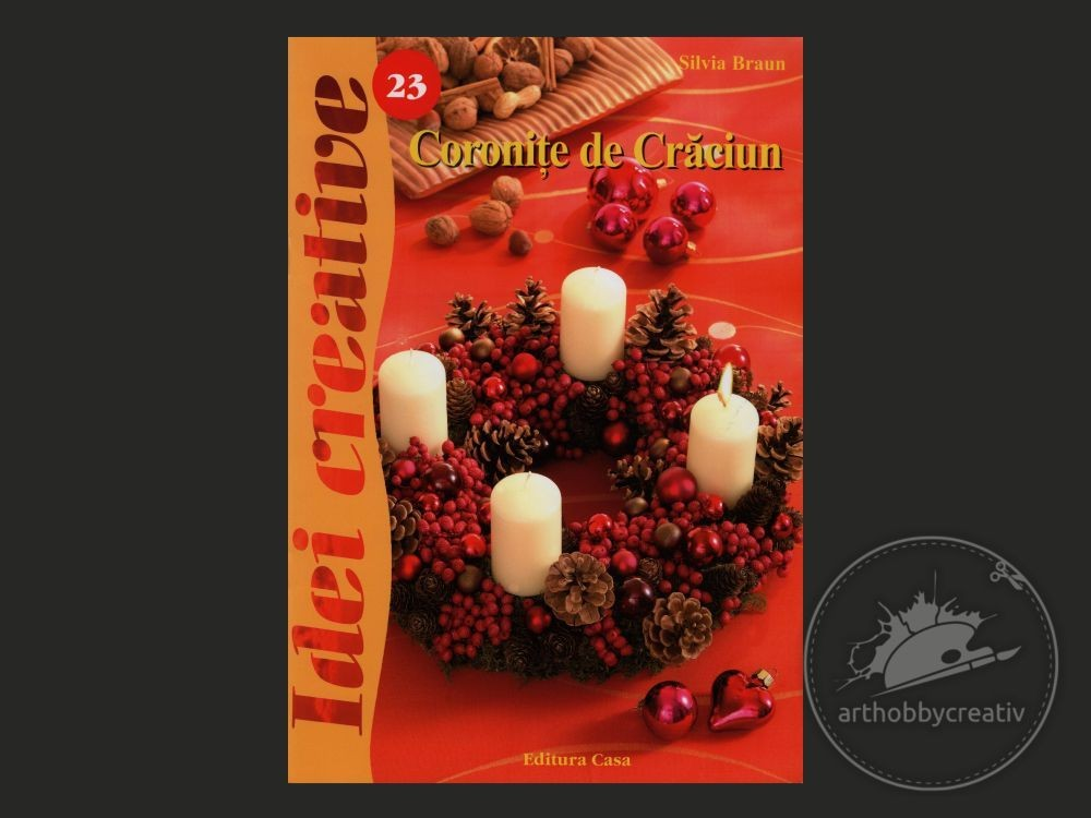 Idei creative: Coronite de Craciun (23)