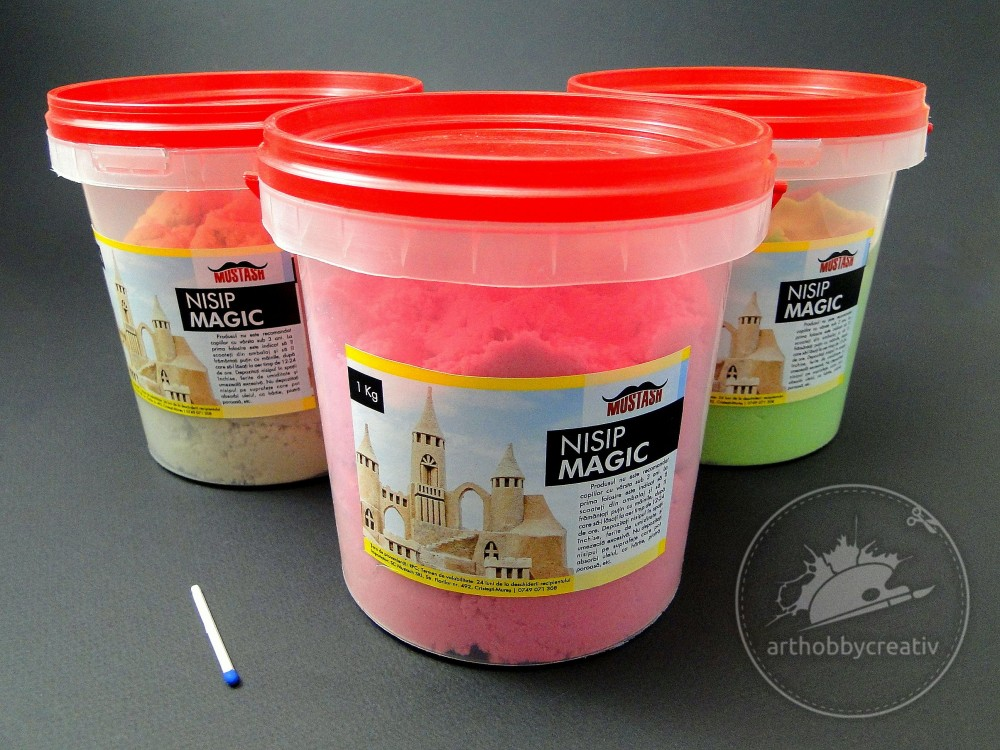 Nisip magic/kinetic 1kg