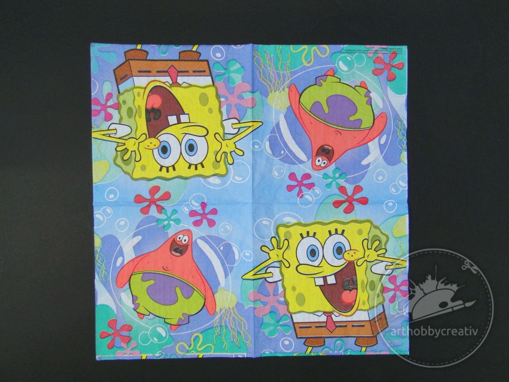 Servetel decorativ SpongeBob SquarePants