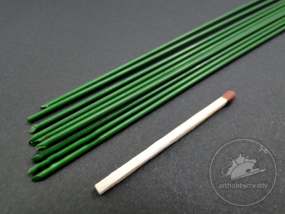 Sarma verde fire 1,4mm/40cm - set/10buc