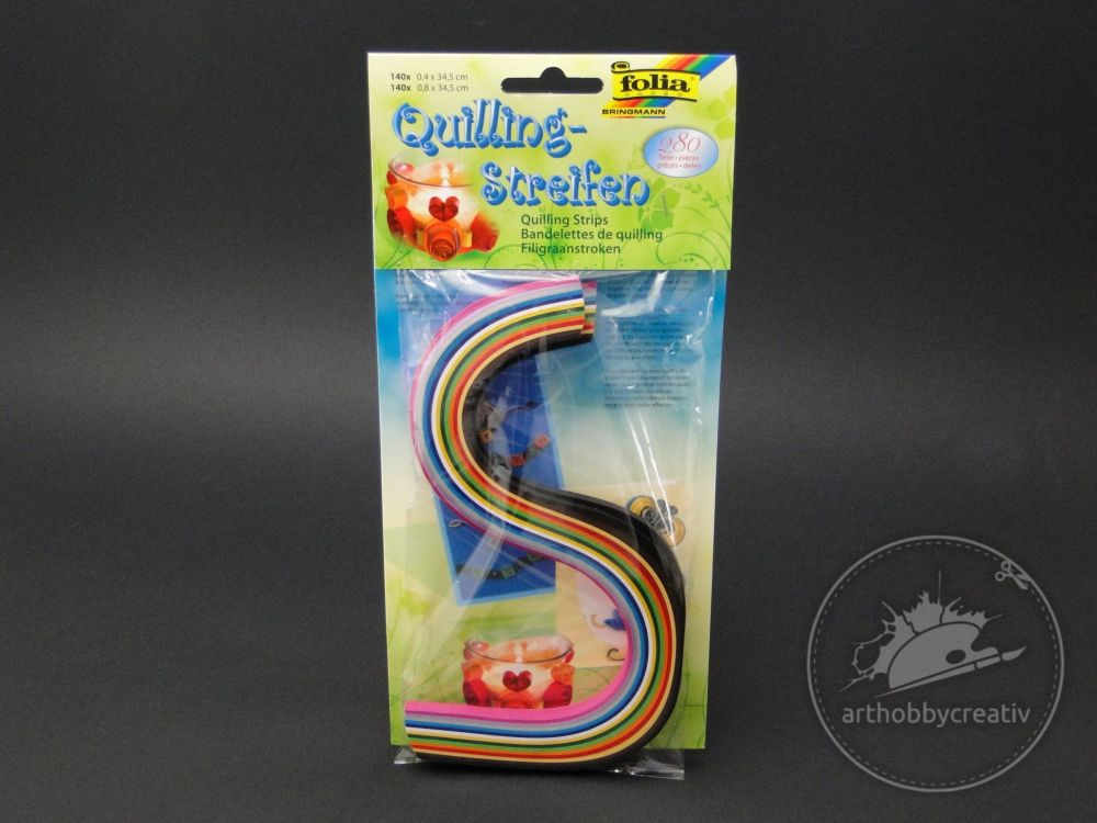 Hartie quilling- multicolor 2/set 280