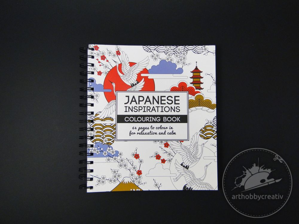 Carte de colorat -  Japanese inspirations