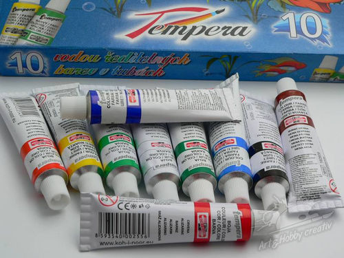 Set de tempera Koh-I-Noor