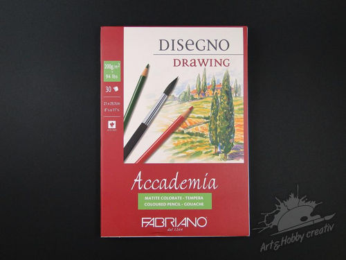 Bloc desen Accademia drawing A4 200gr/m2