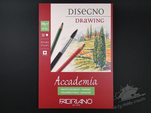 Bloc desen Accademia drawing A3 200gr/m2