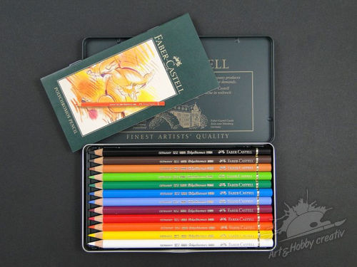 Creioane colorate Faber-Castell set/12buc