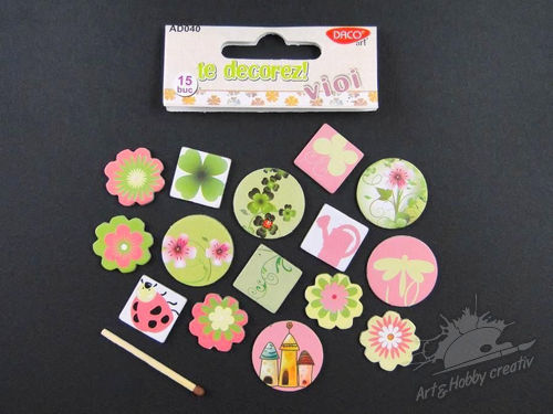 Set motive carton scrapbooking mod.1