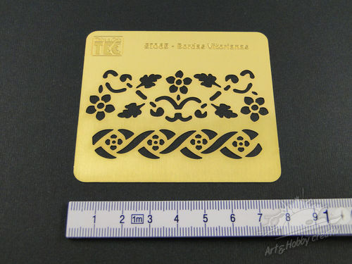 Sablon Embossing 8x7 cm / model 2