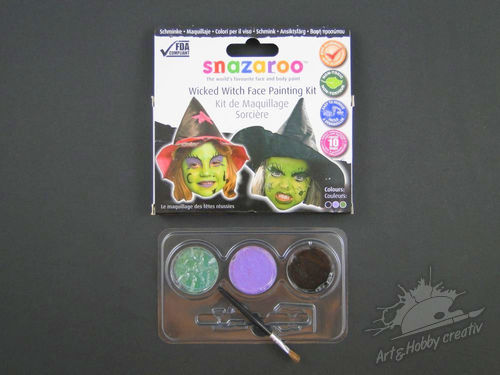 Arthobbycreativ | Set vopsea Wicked Witch Snazaroo
