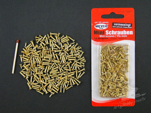 Suruburi mini in set 50gr/250buc