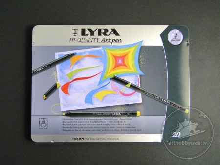 Set carioci Lyra Art pen 20buc