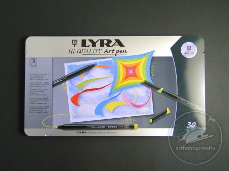 Set carioci Lyra Art pen 30buc