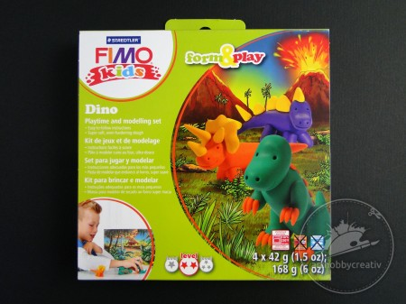 Modelaj FIMO Kids Form&Play set - Dino