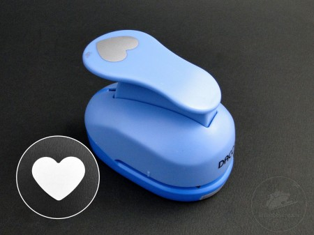 Perforator cu model inimioara 38mm (2)