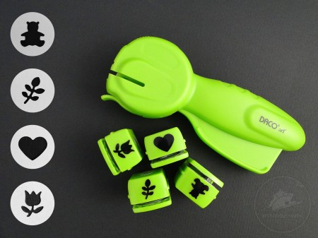Perforator set 18mm/4buc 418A