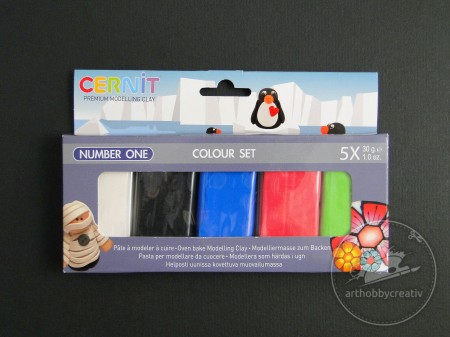Number one set Cernit 5 culori X 30g