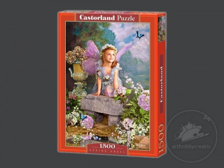 Puzzle Castorland 1500 piese - Spring Angel