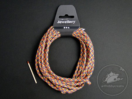 Snur paracord multicolor 5mm/4m