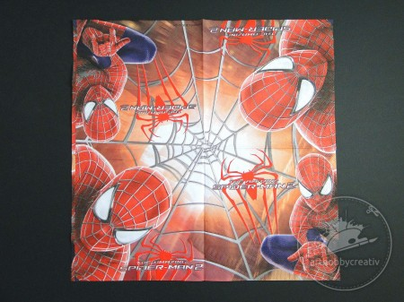 Servetel decorativ Spider-Man