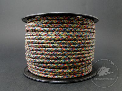 Snur multicolor 4mm