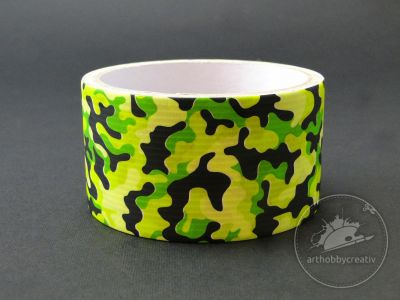 Banda adeziva decor 48mm/5m - army