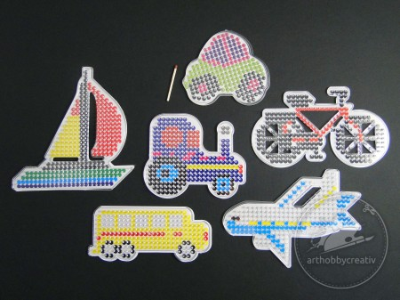 Placi expunere transparent transport set/6buc