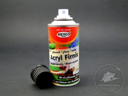 Lac acrilic spray lucios Meyco 150ml
