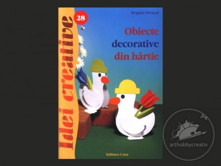 Idei creative: Obiecte decorative din hartie (28)