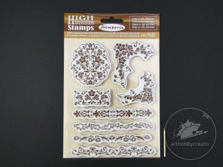 Stampila HighDefinition- floral set/8buc