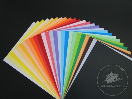Carton color A4 - 130gr/m²