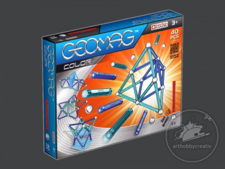 Geomag Color 40buc/set