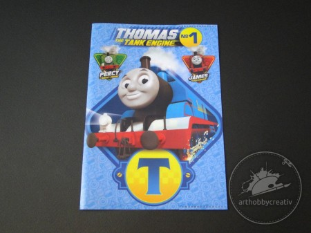 Coperta caiet A5 Thomas the tank engine