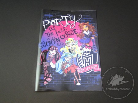 Coperta carte 350x252mm Monster High