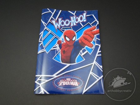 Coperta carte 350x252mm Spider-Man