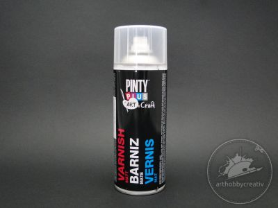 Spray lac acrilic mat Pinty Plus 200ml