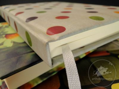 Arthobbycreativ | Caiet notes jurnal vintage A5/136 file - seria 1