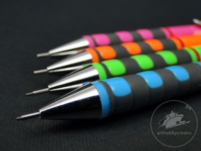 Creion mecanic 0.7 mm Rotring Tikky Neon