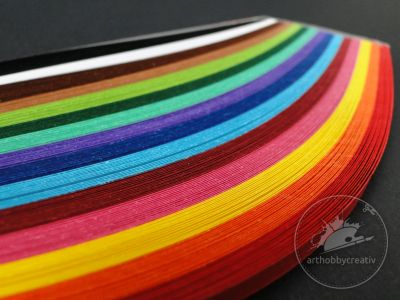 Hartie quilling- multicolor 225/ 5mm
