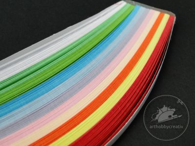 Hartie quilling- multicolor 220/ 5mm