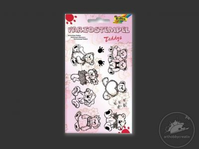 Stampile silicon Teddy set/10buc