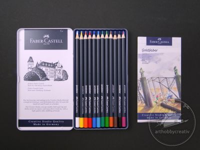 Creioane colorate Goldfaber set/12 buc