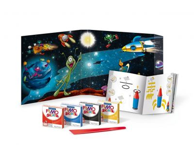 Set modelaj FIMO Kids Form&Play - Space