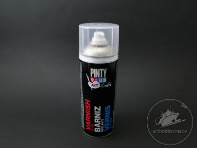 Spray lac acrilic briliant Pinty Plus 400ml