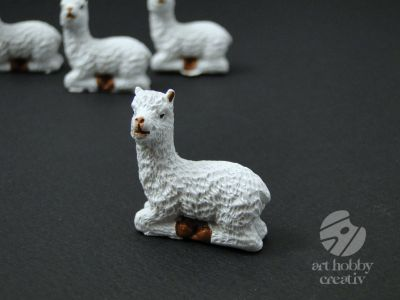 Figurine mini lama set/4buc