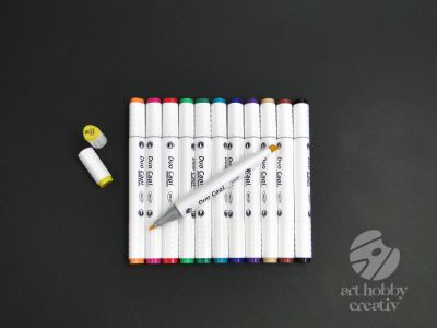Marker grafic - Duo Capi set/12buc