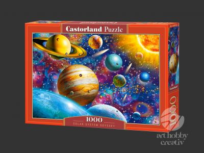 Puzzle Castorland 1000 piese - Solar system Odyssey
